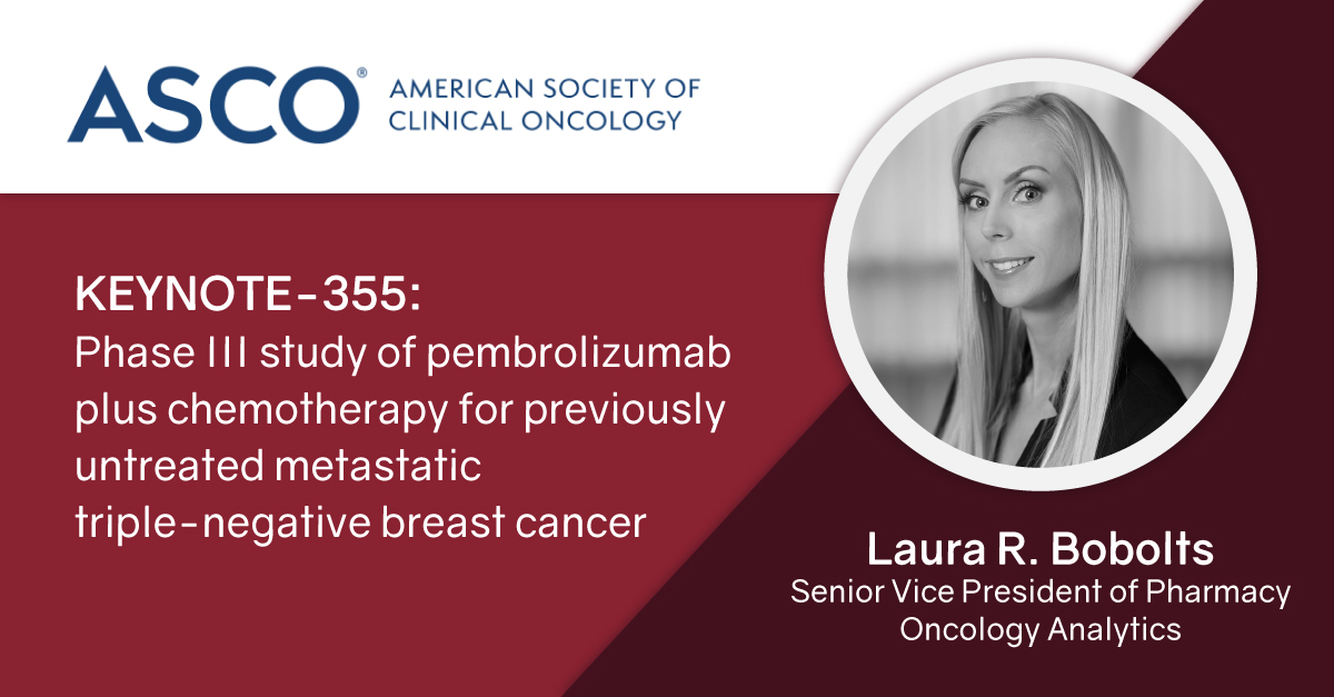 KEYNOTE-355: Phase III study of pembrolizumab plus chemotherapy for previously untreated metastatic triple-negative breast cancer